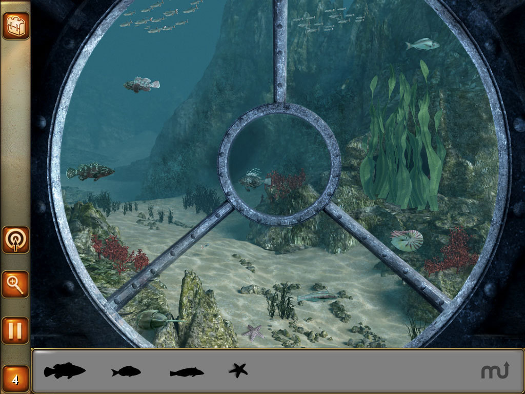 Screenshot 1 for Hidden Objects - 2 in 1 - Jules Verne Pack