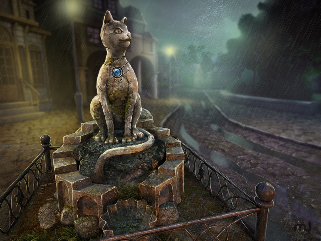 Screenshot 1 for Ghost Towns: The Cats Of Ulthar CE