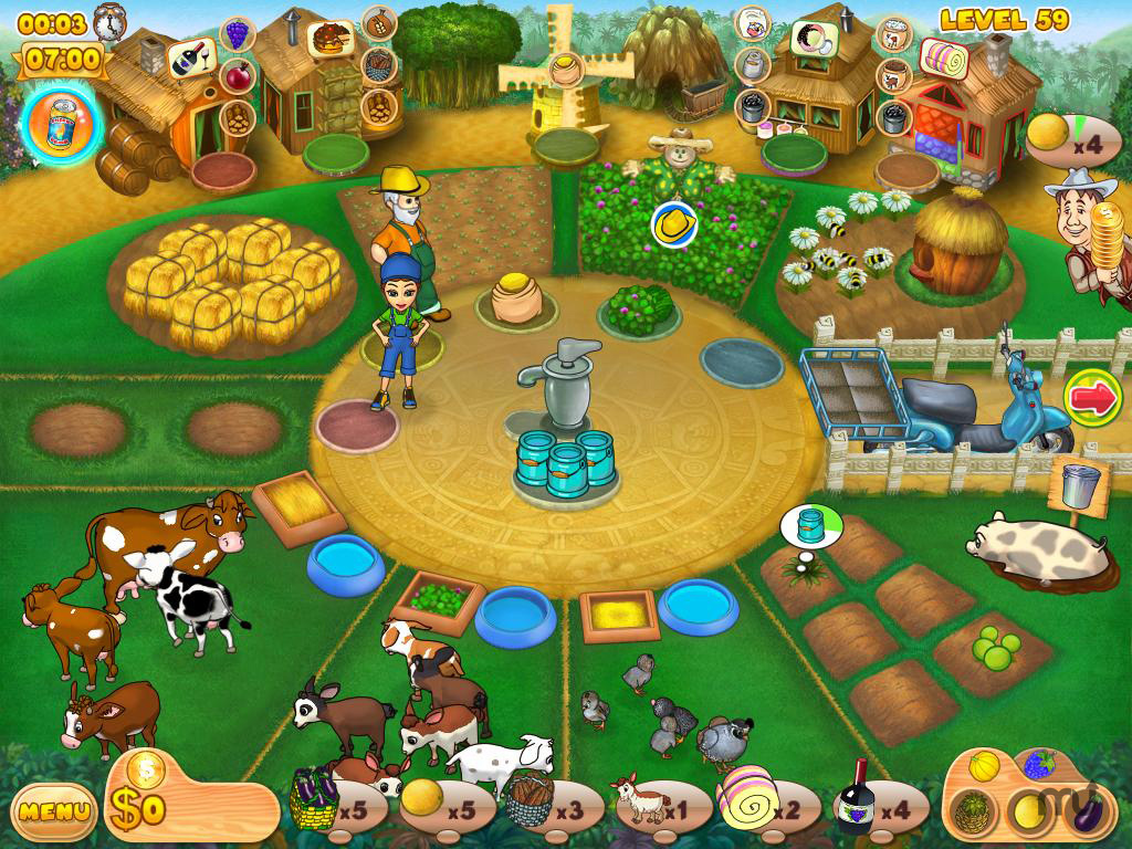 Screenshot 1 for Farm Mania 2
