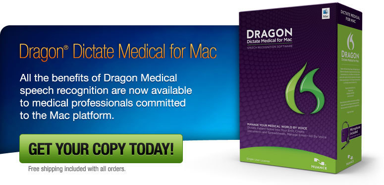 Screenshot 1 for Dragon Dictate Medical