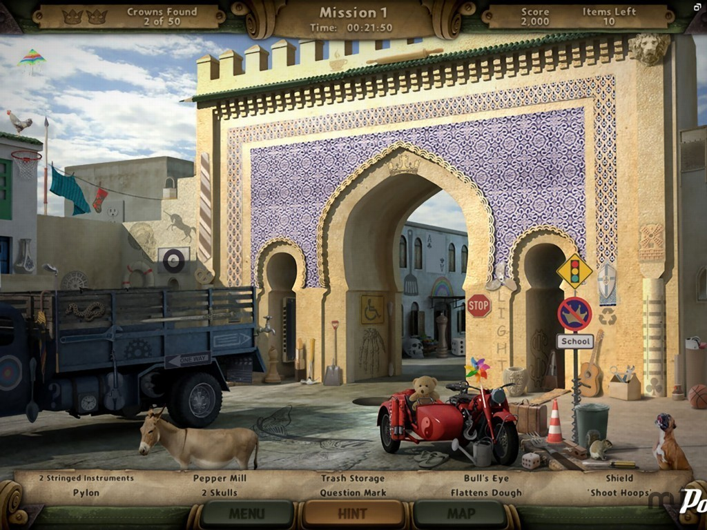 Screenshot 1 for Amazing Adventures: Riddle of Two Knights