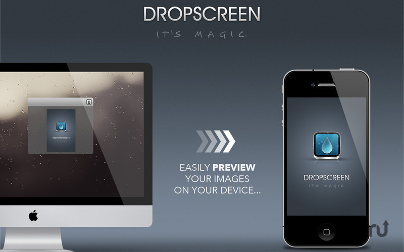 Screenshot 1 for Dropscreen