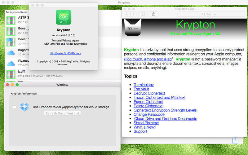 Screenshot 3 for Krypton
