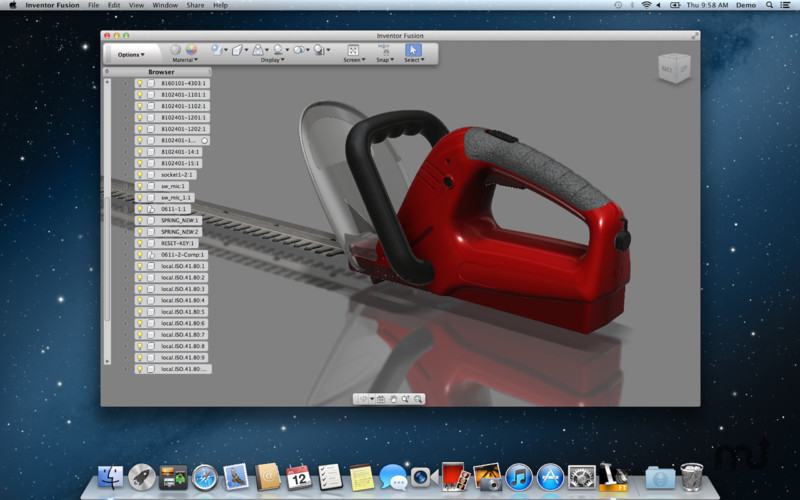 Screenshot 1 for Autodesk Inventor Fusion
