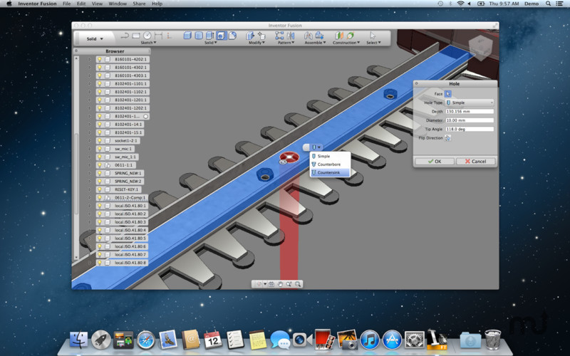 Screenshot 3 for Autodesk Inventor Fusion
