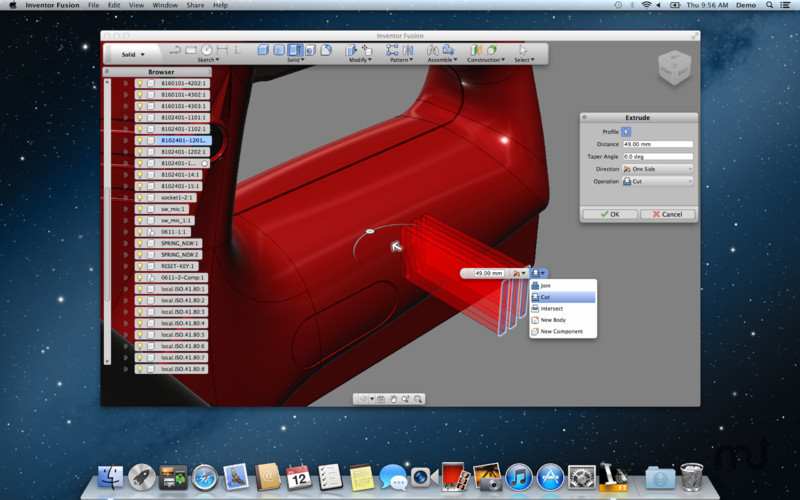 Screenshot 4 for Autodesk Inventor Fusion