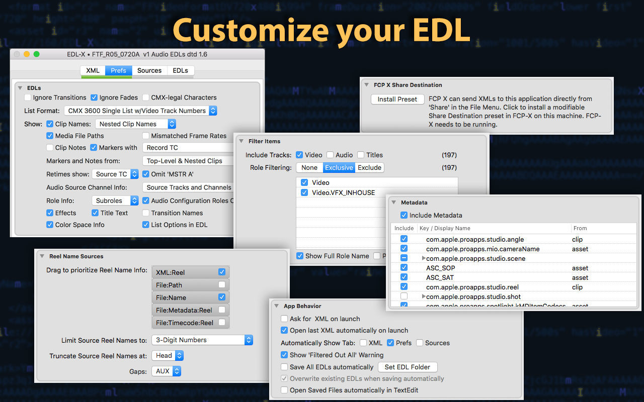 Screenshot 2 for EDL-X