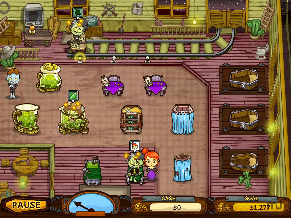 Screenshot 1 for Grave Mania: Undead Fever