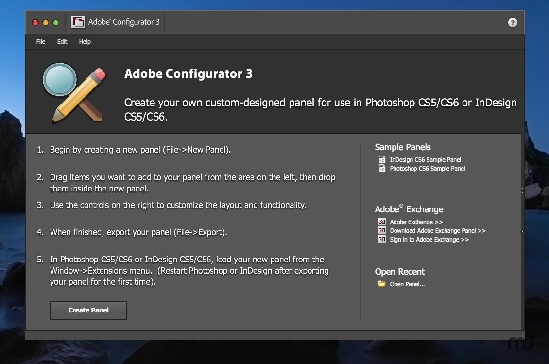 Screenshot 1 for Adobe Configurator