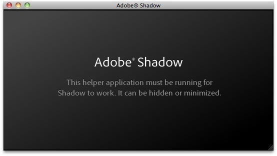 Screenshot 1 for Adobe Shadow
