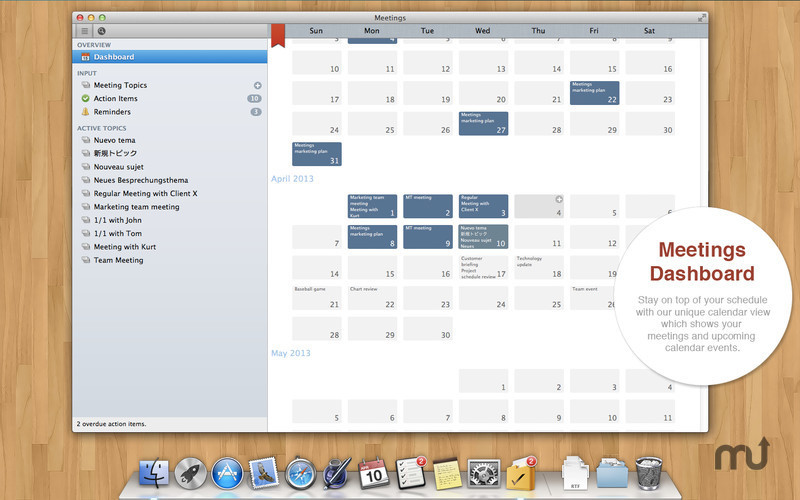 Screenshot 2 for Meetings