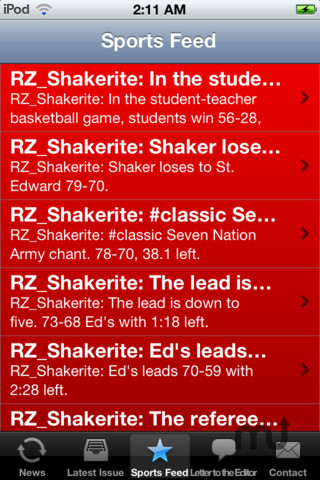 Screenshot 6 for The Shakerite Mobile