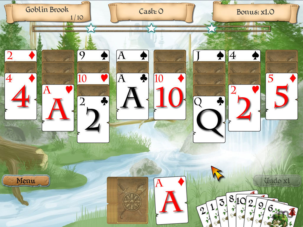 Screenshot 1 for Legends of Solitaire