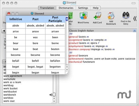Screenshot 1 for Slovoed Classic English/Italian Dictionary