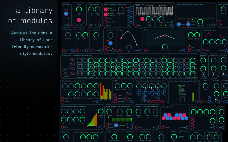 Screenshot 2 for Audulus