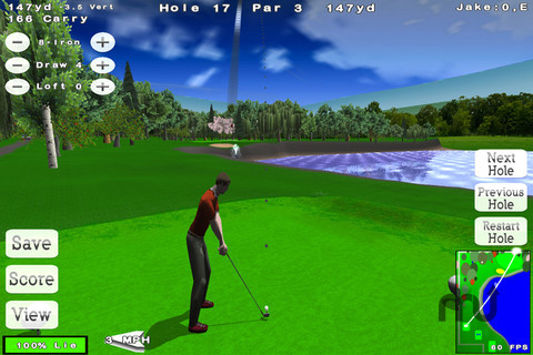 Screenshot 1 for Nova Golf