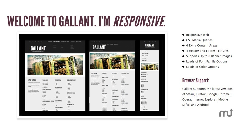 Screenshot 1 for Gallant