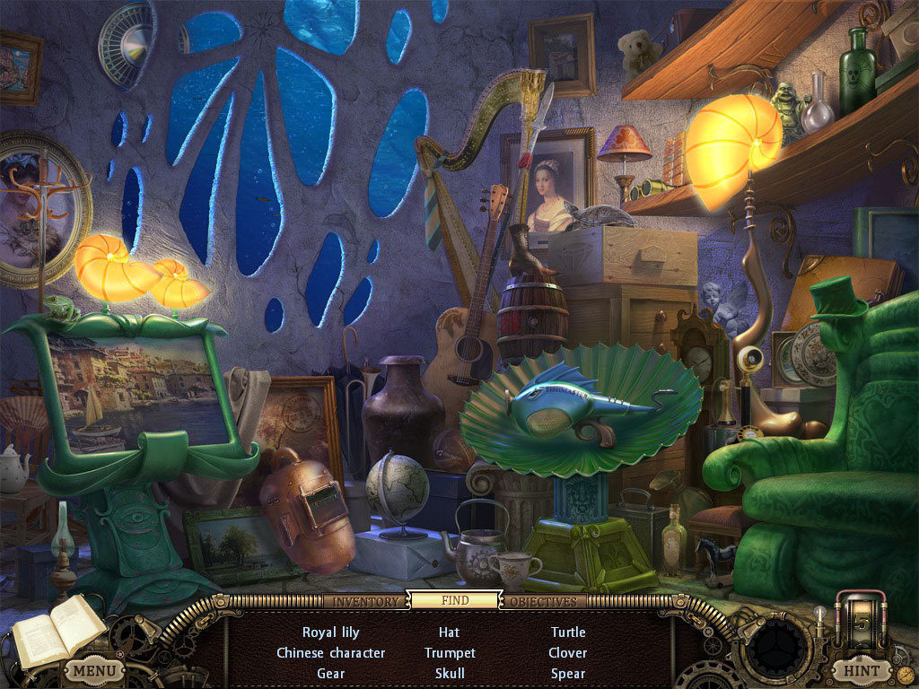Screenshot 1 for Hidden Expedition: Uncharted Islands CE