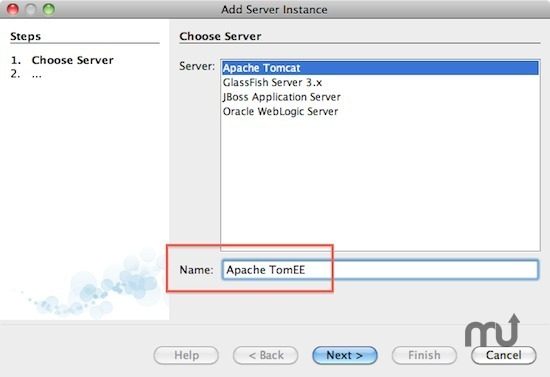 Screenshot 1 for Apache TomEE