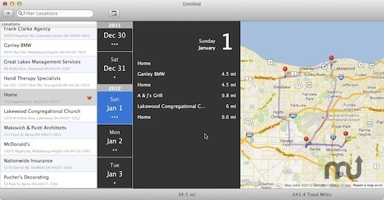 Screenshot 1 for AutoMile