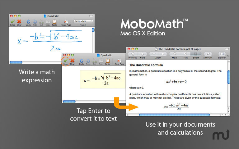 Screenshot 1 for MoboMath