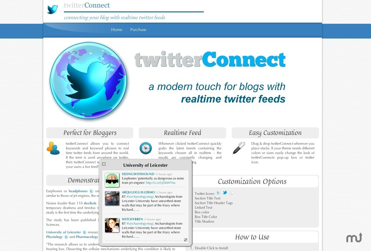 Screenshot 1 for twitterConnect