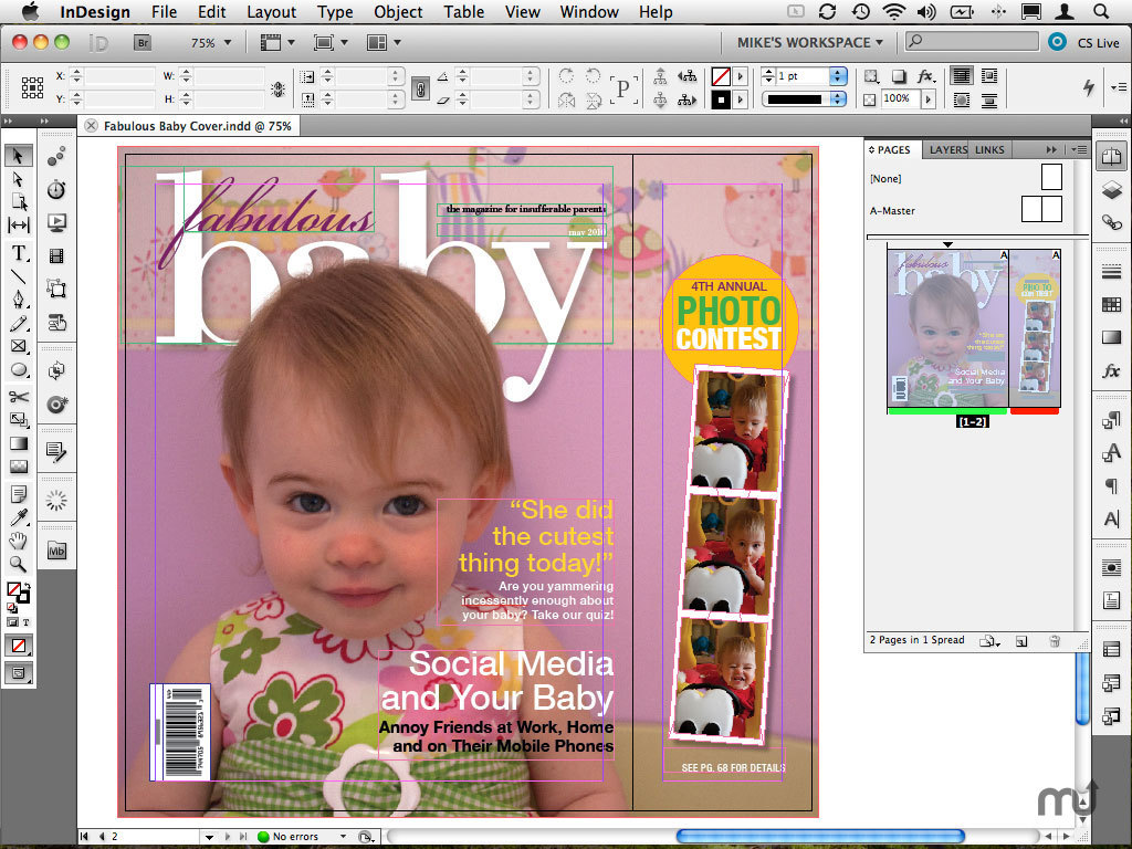 Screenshot 1 for Adobe DPS Desktop Tools for InDesign
