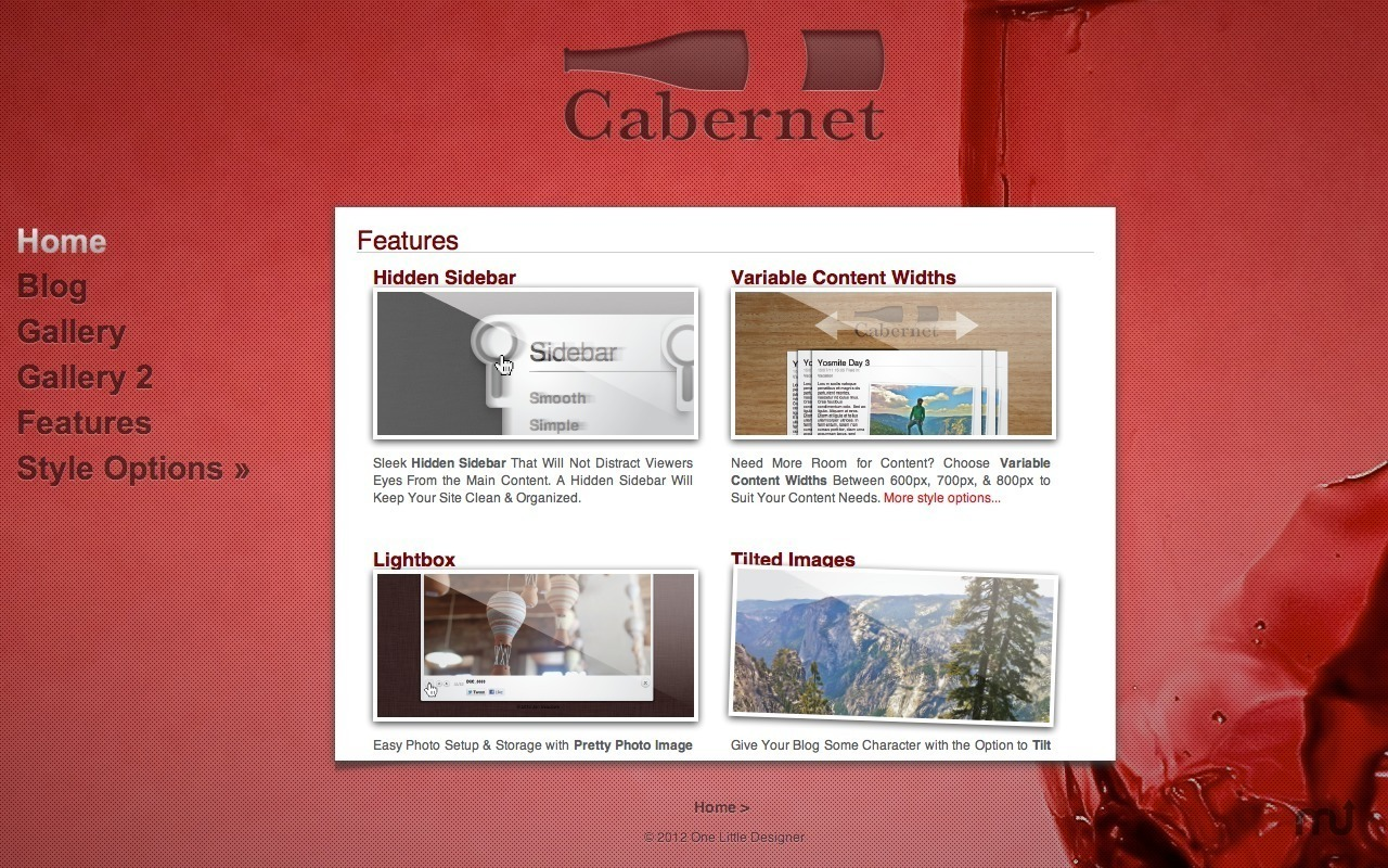 Screenshot 1 for Cabernet