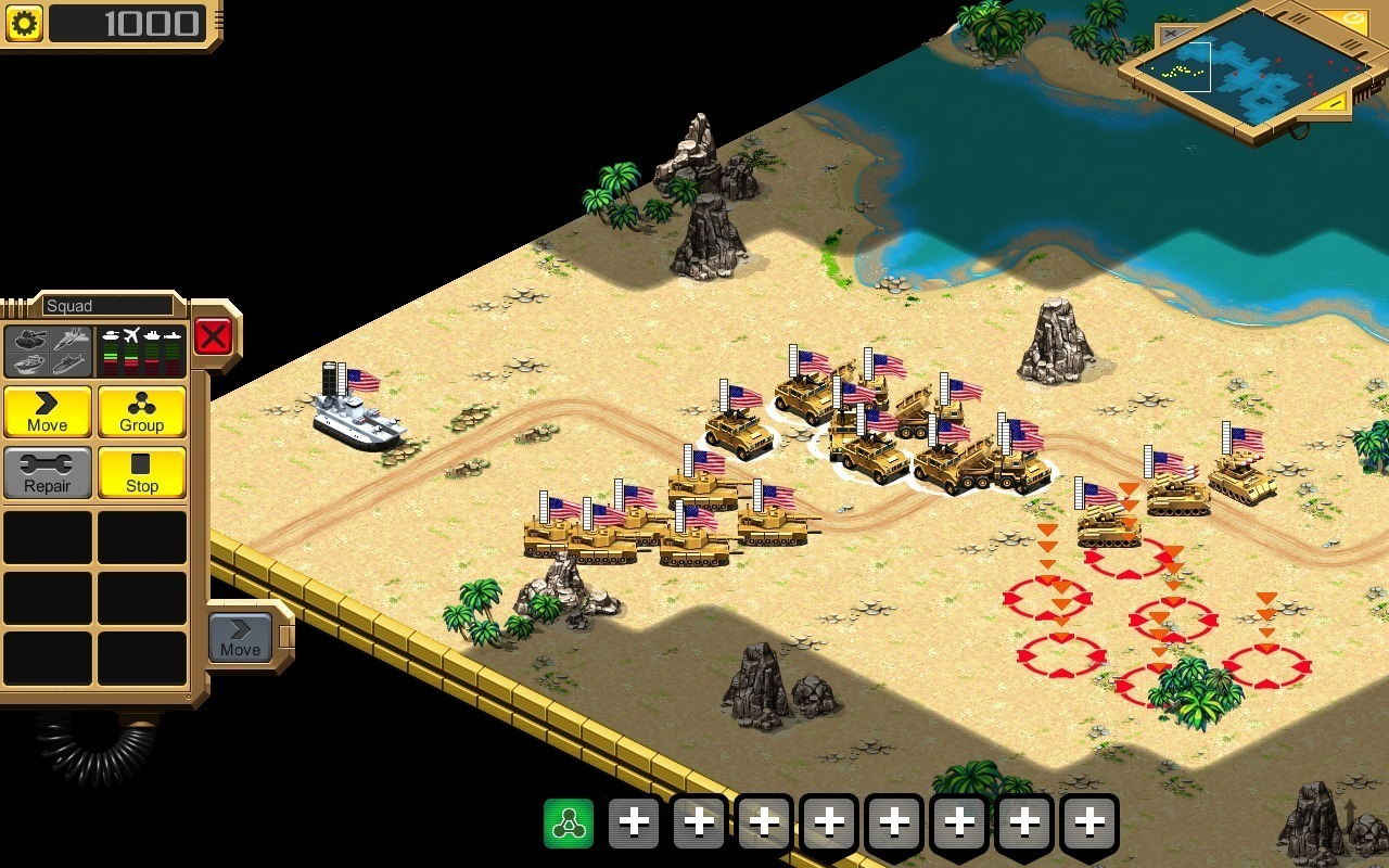 Screenshot 1 for Desert Stormfront
