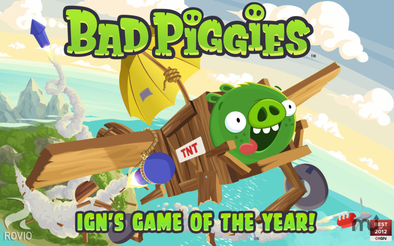 Screenshot 1 for Bad Piggies