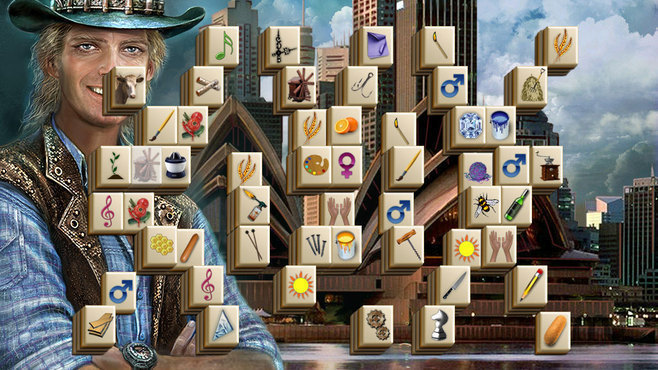 Screenshot 1 for World's Greatest Cities Mahjong