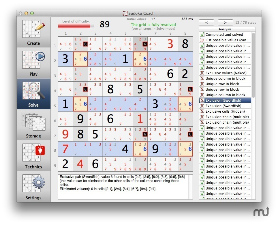 Screenshot 1 for Sudoku Coach