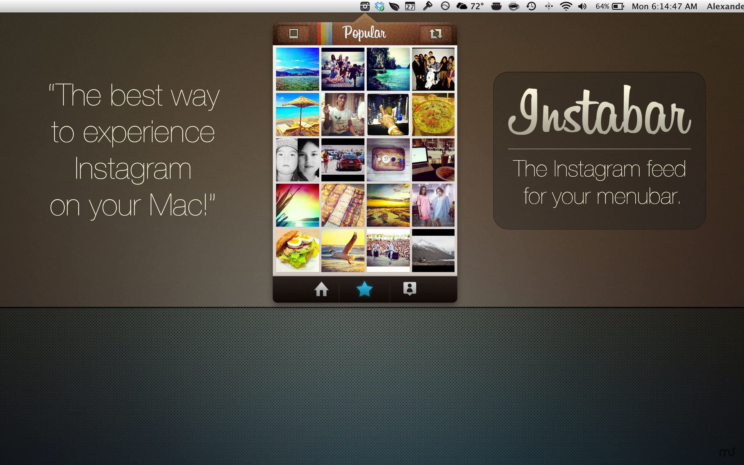 Screenshot 1 for Instabar Pro