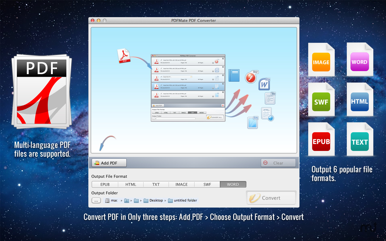 Screenshot 1 for PDFMate PDF Converter