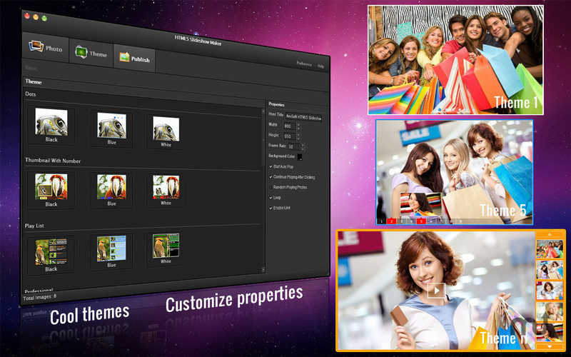 Screenshot 3 for HTML5 Slideshow Maker