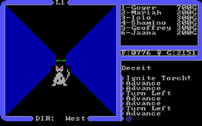 Screenshot 1 for Ultima 4: Quest of the Avatar
