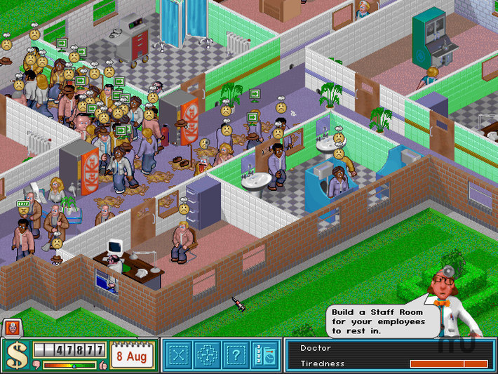 Screenshot 1 for Theme Hospital