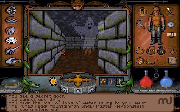 Screenshot 1 for Ultima Underworld 1+2