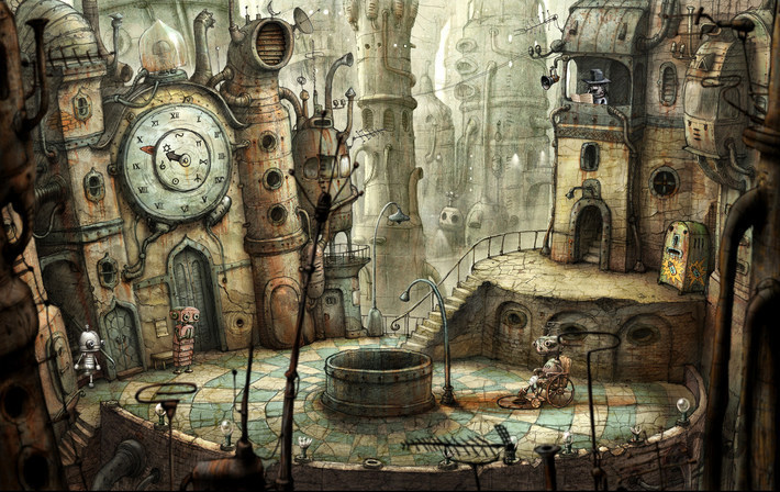 Screenshot 1 for Machinarium: Collector's Edition