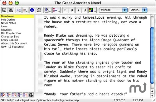 Screenshot 1 for Z-Write