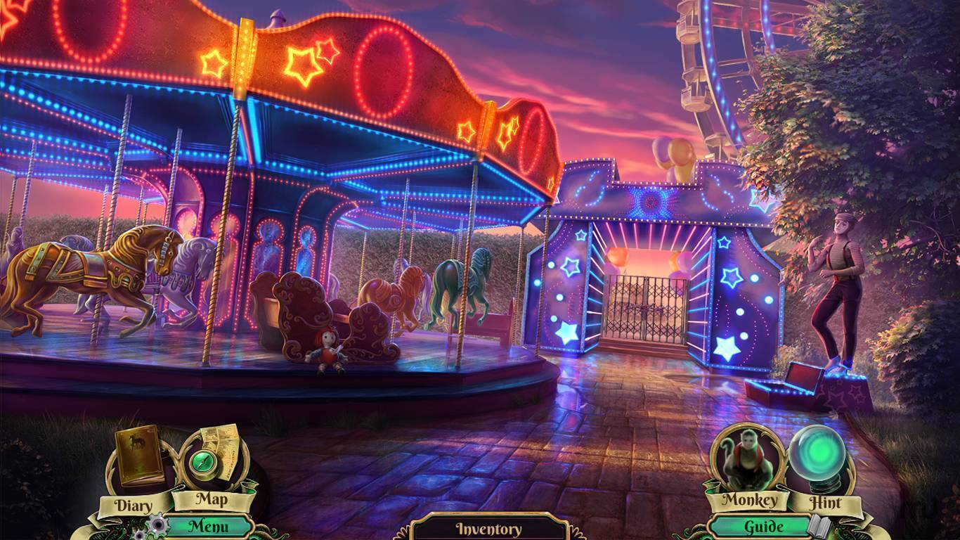 Screenshot 1 for Dark Arcana: The Carnival CE
