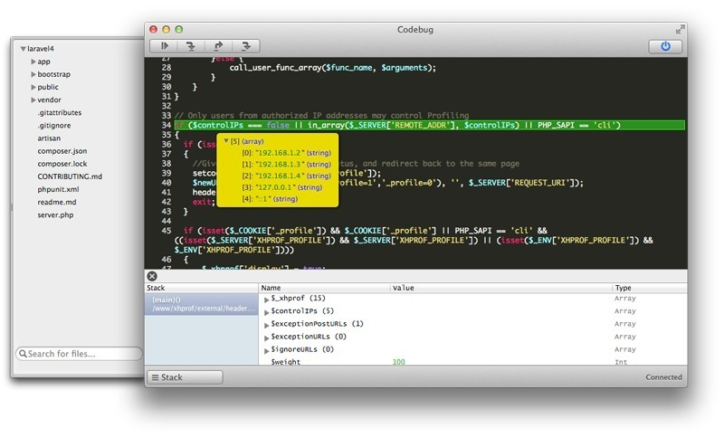 Screenshot 1 for Codebug