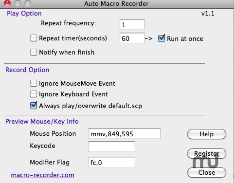 Screenshot 1 for Auto Macro Recorder