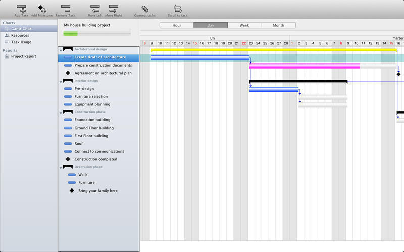 Screenshot 1 for Project Planner