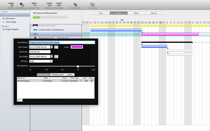 Screenshot 2 for Project Planner