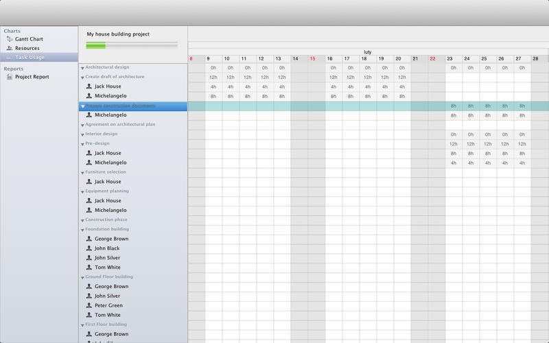 Screenshot 4 for Project Planner