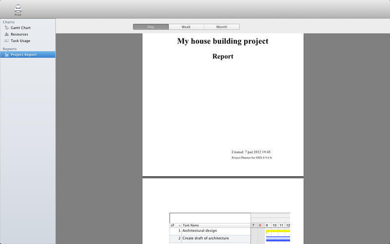 Screenshot 5 for Project Planner