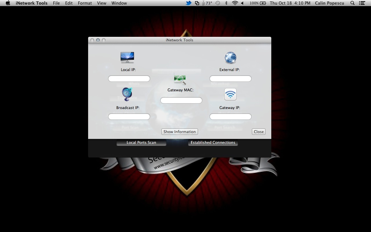 Screenshot 1 for iNetwork Tools