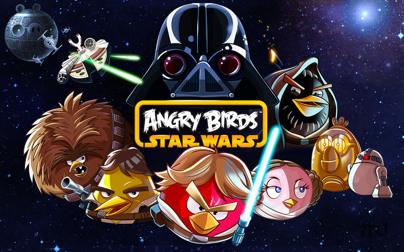 Screenshot 1 for Angry Birds Star Wars