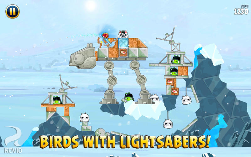 Screenshot 2 for Angry Birds Star Wars